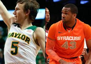 NCAAB Free Pick: Baylor Bears at Syracuse Orangemen 2019-03-21