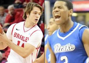 Bradley Braves at Drake Bulldogs 2018-03-02 -  Picks & Predictions