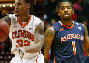 NCAAB Free Pick: Clemson Tigers at Auburn Tigers 2018-03-18