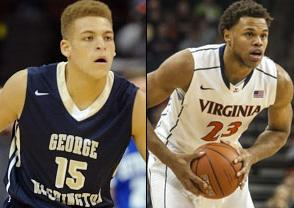 NCAAB Free Pick: George Washington Colonials at Virginia Cavaliers 2018-11-11