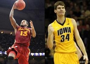 NCAAB Free Pick: Iowa State Cyclones at Iowa Hawkeyes 2018-12-06