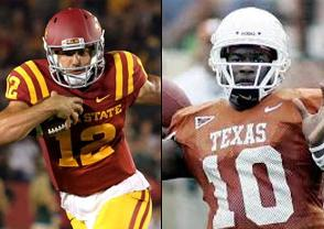 NCAAF Free Pick: Iowa State Cyclones at Texas Longhorns 2018-11-17