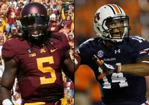Minnesota Golden Gophers at Auburn Tigers 2020-01-01 - Free NCAAF Pick, Odds, and Prediction