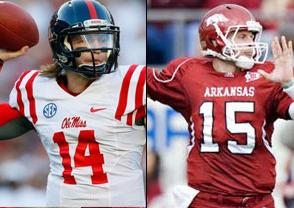 NCAAF Free Pick: Mississippi Rebels at Arkansas Razorbacks 2018-10-13