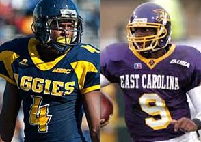 NCAAF Free Pick: North Carolina A&T Aggies at East Carolina Pirates 2018-09-01