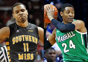 NCAAB Free Pick: Southern Miss Golden Eagles at Marshall Thundering Herd 2018-03-09