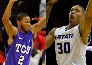 NCAAB Free Pick: Texas Christian University Horned Frogs at Kansas State Wildcats 2019-03-14