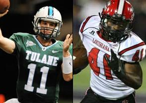 NCAAF Free Pick: Tulane Green Wave at Louisiana Lafayette Ragin Cajuns 2018-12-15