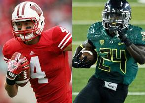 Wisconsin Badgers at Oregon Ducks 2020-01-01 - Free NCAAF Pick, Odds, and Prediction