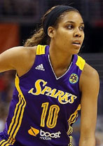 San Antonio Silver Stars vs Los Angeles Sparks